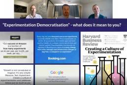 What does Experimentation Democratisation really mean webinar